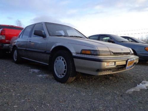 Photo Image Gallery & Touchup Paint: Honda Accord in Laguna Gold Metallic  (YR87M)  YEARS: 1988-1989
