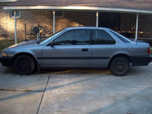 Photo Image Gallery & Touchup Paint: Honda Accord in Concord Blue Metallic  (B58M)  YEARS: 1991-1992