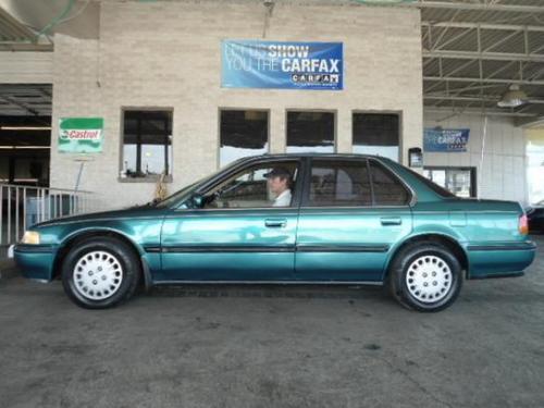 Photo Image Gallery & Touchup Paint: Honda Accord in Arcadia Green Pearl  (BG30P)  YEARS: 1992-1993