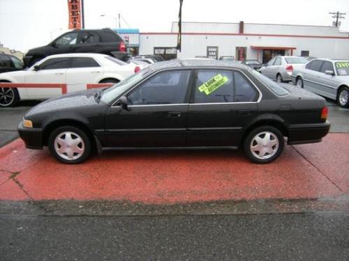 Photo Image Gallery & Touchup Paint: Honda Accord in Granada Black Pearl  (NH503P)  YEARS: 1991-1991