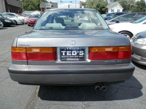Photo Image Gallery & Touchup Paint: Honda Accord in Pewter Gray Metallic  (NH537M)  YEARS: 1991-1992