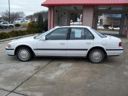 Photo Image Gallery & Touchup Paint: Honda Accord in Frost White   (NH538)  YEARS: 1991-1993
