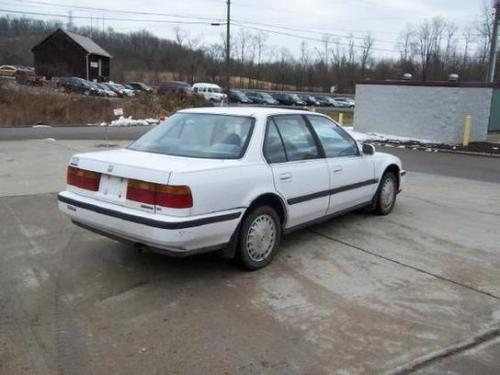 Photo Image Gallery & Touchup Paint: Honda Accord in Frost White   (NH538)  YEARS: 1990-1993