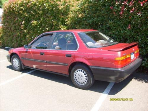 Photo Image Gallery & Touchup Paint: Honda Accord in Navajo Red Metallic  (R70M)  YEARS: 1990-1990