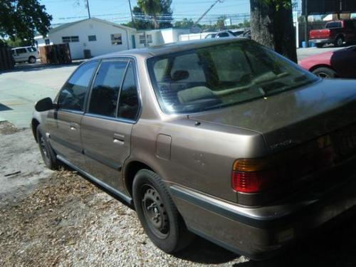 Photo Image Gallery & Touchup Paint: Honda Accord in Cappucino Brown Metallic  (YR501M)  YEARS: 1990-1991