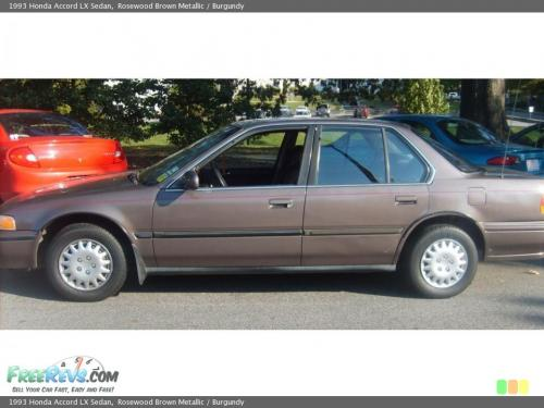 Photo Image Gallery & Touchup Paint: Honda Accord in Rosewood Brown Metallic  (YR503M)  YEARS: 1992-1993