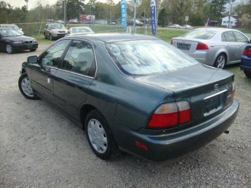 Photo Image Gallery & Touchup Paint: Honda Accord in Eucalyptus Green Pearl  (G83P)  YEARS: 1996-1997