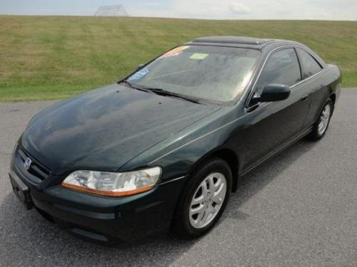 Photo Image Gallery & Touchup Paint: Honda Accord in Dark Emerald Pearl  (G87P)  YEARS: 1998-2001