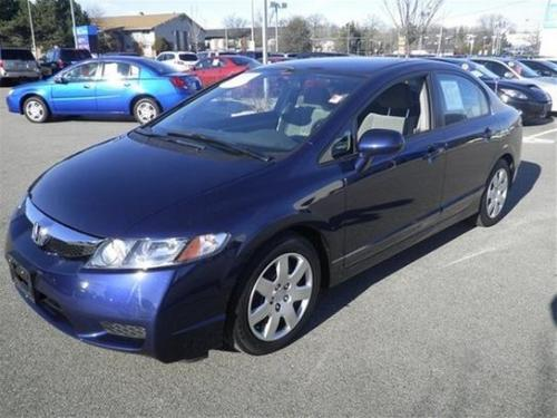Photo Image Gallery & Touchup Paint: Honda Civic in Royal Blue Pearl  (B536P)  YEARS: 2006-2011