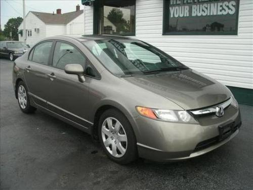 Photo Image Gallery & Touchup Paint: Honda Civic in Galaxy Gray Metallic  (NH701M)  YEARS: 2006-2008