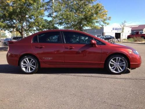 Photo Image Gallery & Touchup Paint: Honda Civic in Habanero Red Pearl  (YR557P)  YEARS: 2006-2008