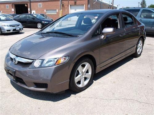 Photo Image Gallery & Touchup Paint: Honda Civic in Urban Titanium Metallic  (YR578M)  YEARS: 2009-2011