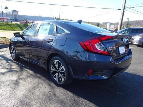 Photo Image Gallery & Touchup Paint: Honda Civic in Cosmic Blue Metallic  (B607M)  YEARS: 2016-2018