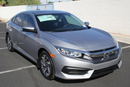 Photo Image Gallery & Touchup Paint: Honda Civic in Lunar Silver Metallic  (NH830M)  YEARS: 2017-2018