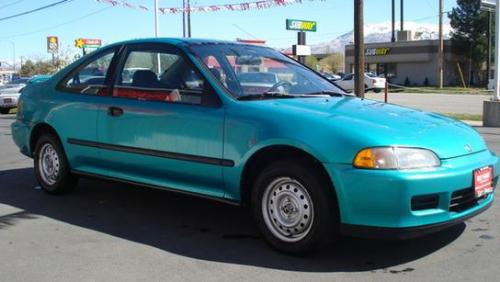 1994 honda civic coupe green