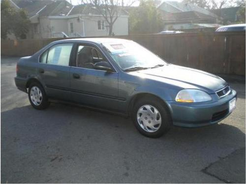 Photo Image Gallery & Touchup Paint: Honda Civic in Cyclone Blue Metallic  (B73M)  YEARS: 1996-1998