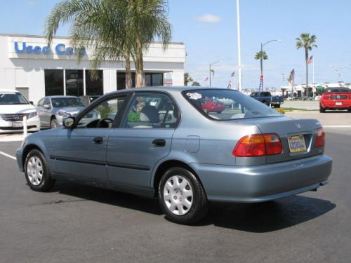 Photo Image Gallery & Touchup Paint: Honda Civic in Iced Teal Pearl  (BG41P)  YEARS: 1999-2000
