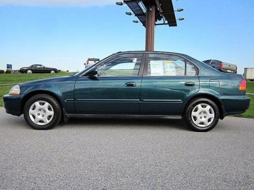 Photo Image Gallery & Touchup Paint: Honda Civic in Cypress Green Pearl  (G82P)  YEARS: 1996-1998