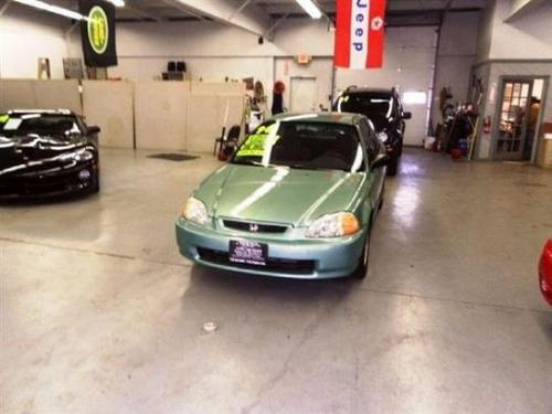 Photo Image Gallery & Touchup Paint: Honda Civic in Midori Green Pearl  (GY16P)  YEARS: 1996-1996