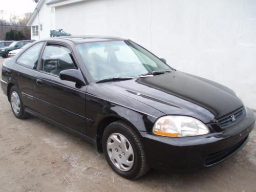 Photo Image Gallery & Touchup Paint: Honda Civic in Granada Black Pearl  (NH503P)  YEARS: 1996-1997