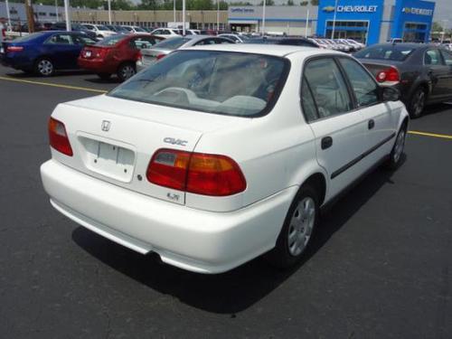Photo Image Gallery & Touchup Paint: Honda Civic in Taffeta White   (NH578)  YEARS: 1998-2000