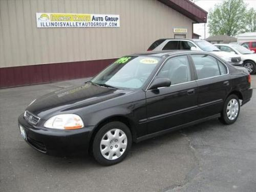 Photo Image Gallery & Touchup Paint: Honda Civic in Flamenco Black Pearl  (NH592P)  YEARS: 1998-2000