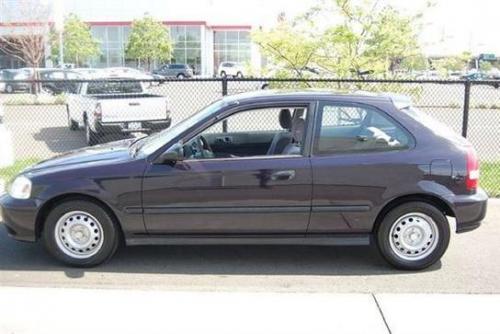 Photo Image Gallery & Touchup Paint: Honda Civic in Dark Amethyst Pearl  (PB74P)  YEARS: 1997-1999