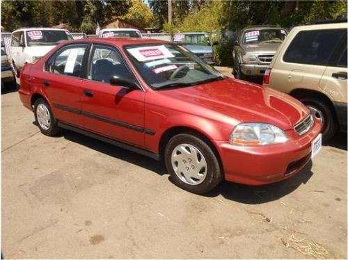 Photo Image Gallery & Touchup Paint: Honda Civic in Island Coral Pearl  (R95P)  YEARS: 1996-1996
