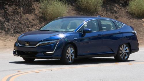 Photo Image Gallery & Touchup Paint: Honda Clarity in Vortex Blue Pearl  (B553P)  YEARS: 2017-2018