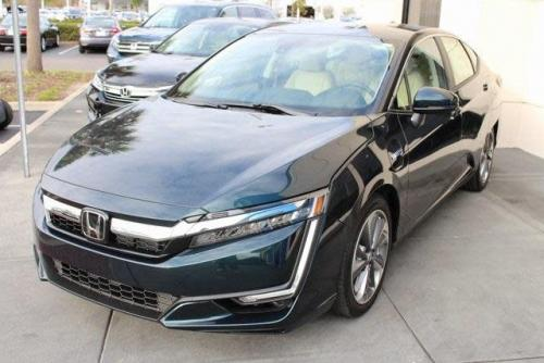 Photo Image Gallery & Touchup Paint: Honda Clarity in Moonlit Forest Pearl  (BG66P)  YEARS: 2018-2018