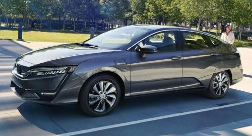 Photo Image Gallery & Touchup Paint: Honda Clarity in Modern Steel Metallic  (NH797M)  YEARS: 2018-2018