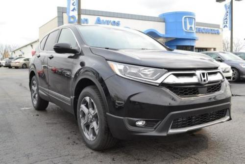 Photo Image Gallery & Touchup Paint: Honda Crv in Crystal Black Pearl  (NH731P)  YEARS: 2017-2018