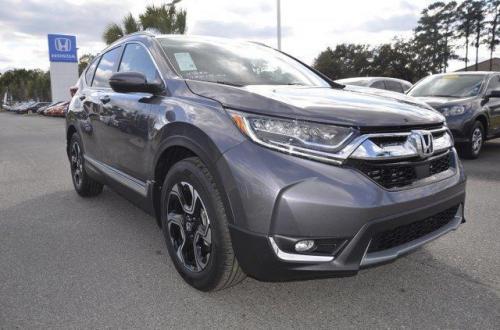 Photo Image Gallery & Touchup Paint: Honda Crv in Modern Steel Metallic  (NH797M)  YEARS: 2017-2018