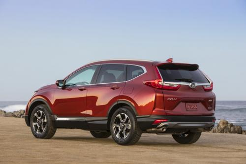Photo Image Gallery & Touchup Paint: Honda Crv in Molten Lava Pearl  (R539P)  YEARS: 2017-2018