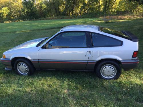 Photo Image Gallery & Touchup Paint: Honda Crx in Quartz Silver Metallic  (NH94M)  YEARS: 1987-1987