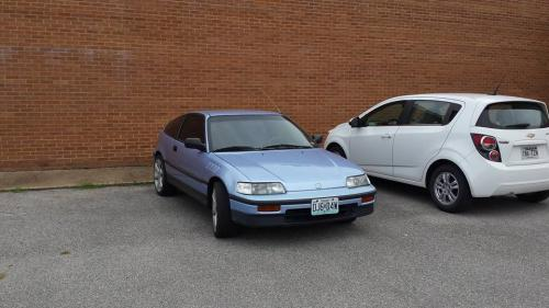 Photo Image Gallery & Touchup Paint: Honda Crx in Superior Blue Metallic  (B47M)  YEARS: 1988-1989