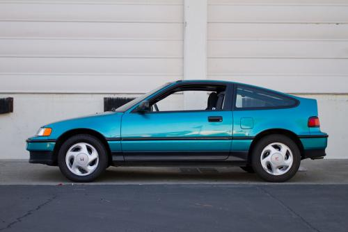 Photo Image Gallery & Touchup Paint: Honda Crx in Tahitian Green Pearl  (BG28P)  YEARS: 1991-1991
