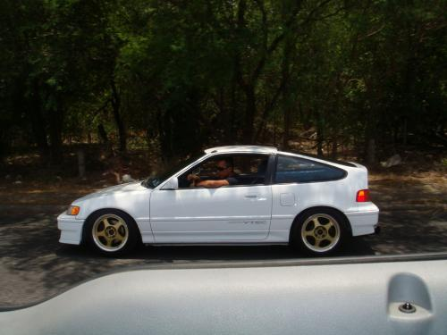 Photo Image Gallery & Touchup Paint: Honda Crx in Polar White   (NH512)  YEARS: 1988-1990