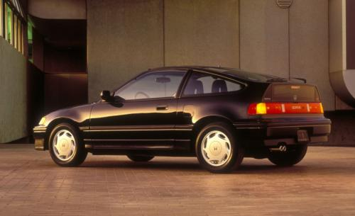 Photo Image Gallery & Touchup Paint: Honda Crx in Flint Black Metallic  (NH526M)  YEARS: 1988-1991