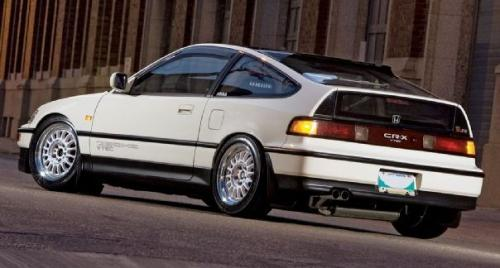 Photo Image Gallery & Touchup Paint: Honda Crx in Frost White   (NH538)  YEARS: 1991-1991