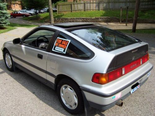 Photo Image Gallery & Touchup Paint: Honda Crx in Blade Silver Metallic  (NH95M)  YEARS: 1988-1989