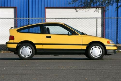Photo Image Gallery & Touchup Paint: Honda Crx in Barbados Yellow   (Y49)  YEARS: 1988-1990