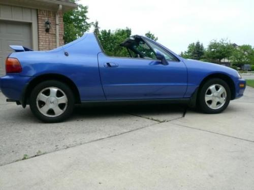 Photo Image Gallery & Touchup Paint: Honda Delsol in Captiva Blue Pearl  (B62P)  YEARS: 1993-1994