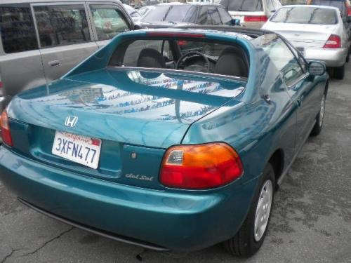 Photo Image Gallery & Touchup Paint: Honda Delsol in Paradise Bluegreen Pearl  (BG33P)  YEARS: 1995-1995
