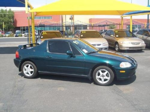 Photo Image Gallery & Touchup Paint: Honda Delsol in Cypress Green Pearl  (G82P)  YEARS: 1996-1997