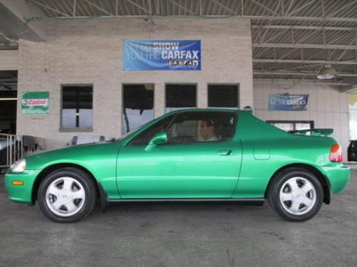 Photo Image Gallery & Touchup Paint: Honda Delsol in Samba Green Pearl  (GY15P)  YEARS: 1993-1994