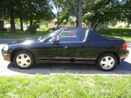 Photo Image Gallery & Touchup Paint: Honda Delsol in Granada Black Pearl  (NH503P)  YEARS: 1993-1997