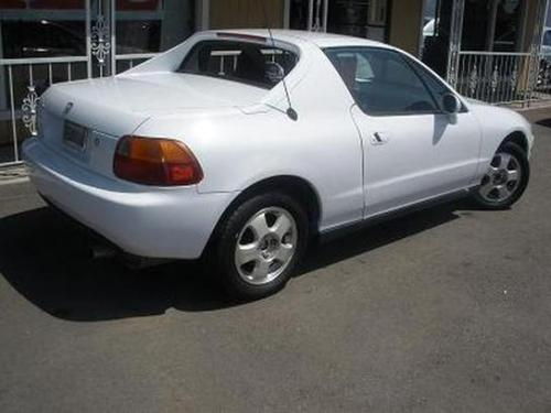 Photo Image Gallery & Touchup Paint: Honda Delsol in Frost White   (NH538)  YEARS: 1993-1997