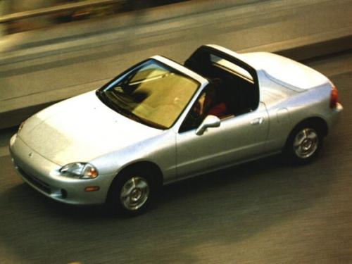 Photo Image Gallery & Touchup Paint: Honda Delsol in Vogue Silver Metallic  (NH583M)  YEARS: 1996-1997