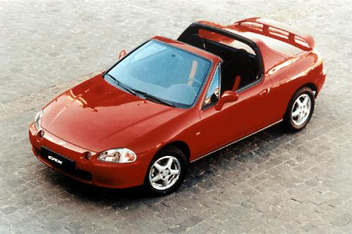 Photo Image Gallery & Touchup Paint: Honda Delsol in Milano Red   (R81)  YEARS: 1993-1997